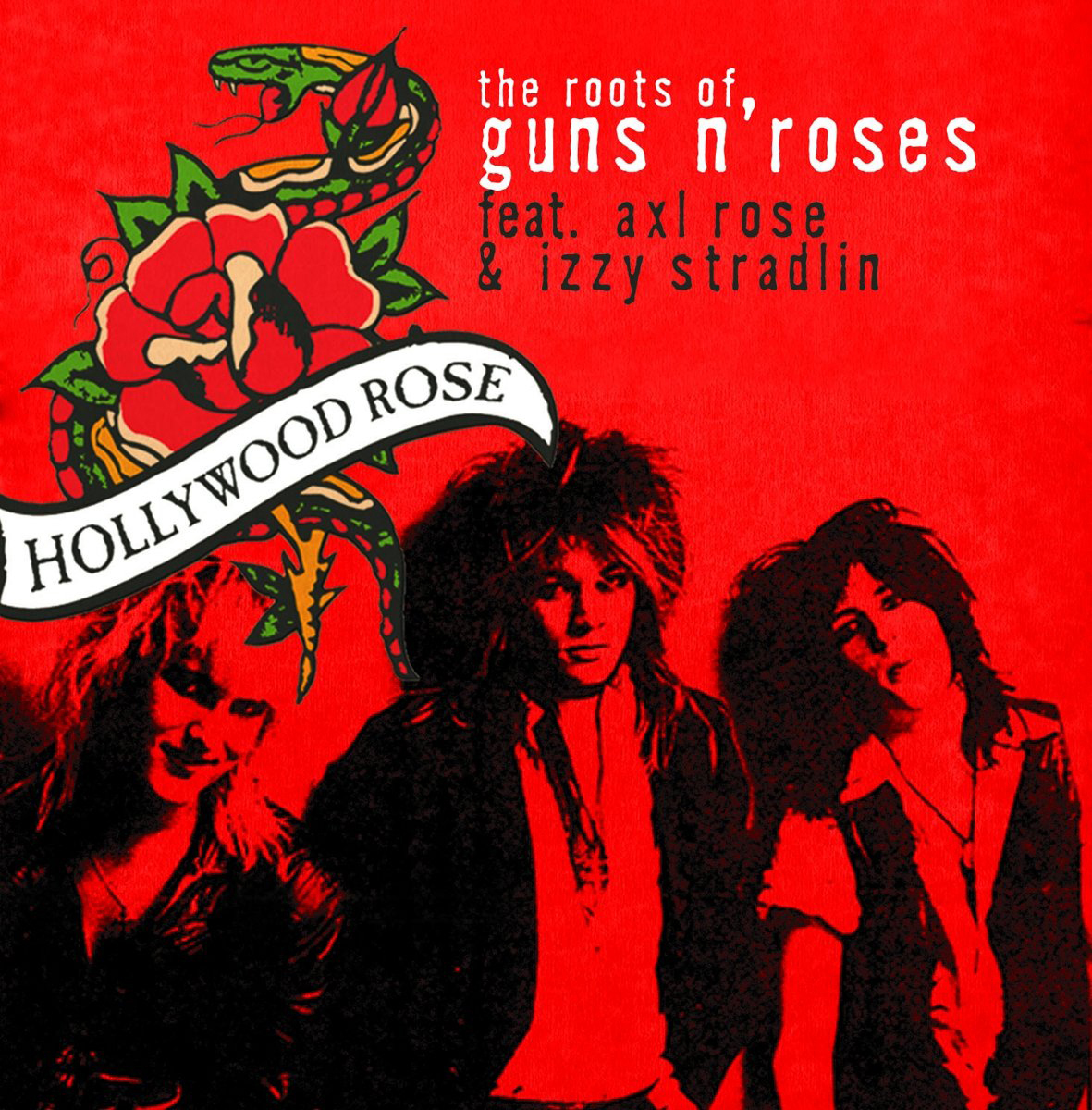 Hollywood Rose,Axl Rose Hollywood Rose Feat. Axl Rose. The Roots Of Guns'n Roses axl usa sro artist off white