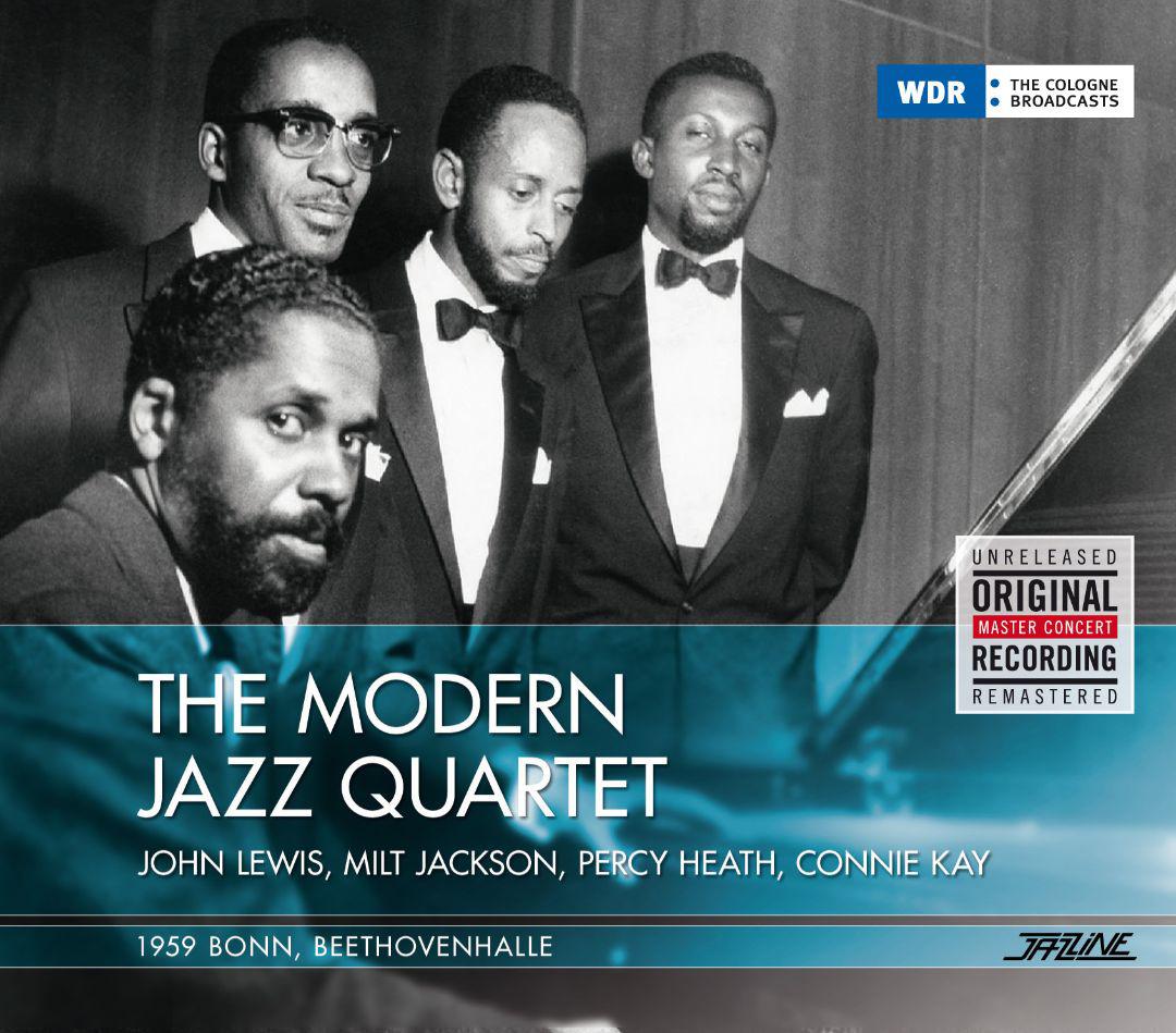 The Modern Jazz Quartet Modern Jazz Quartet. The Modern Jazz Quartet, 09.12.1959 facing the modern