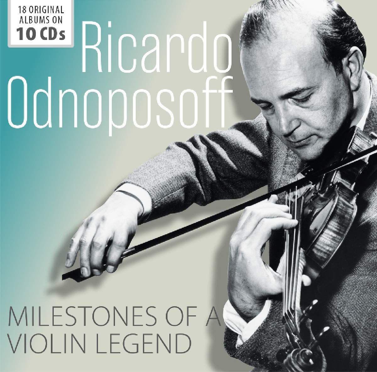 Ricardo Odnoposoff Ricardo Odnoposoff. Milestones Of Legends (10 CD) ricardo guti