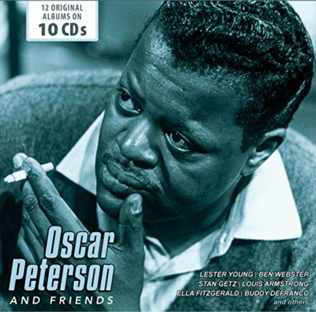 Оскар Питерсон Oscar Peterson. Oscar Peterson And Friends (10 CD) oscar peterson oscar peterson
