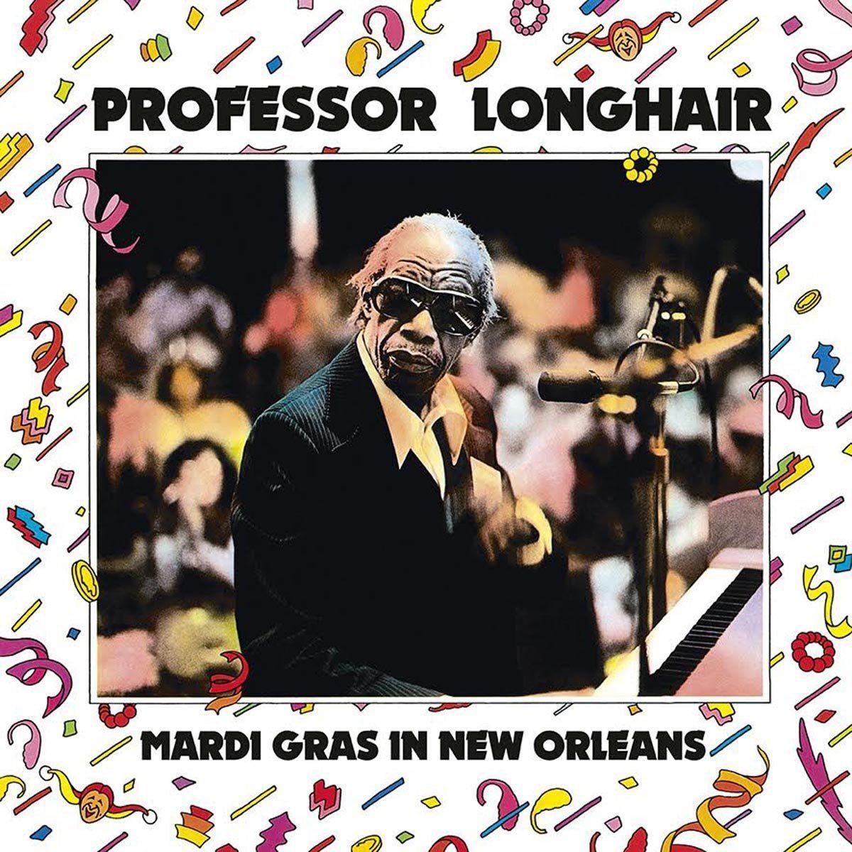 Профессор Лонгхэйр Professor Longhair. Mardi Gras In New Orleans (LP) лонгслив printio mardi gras