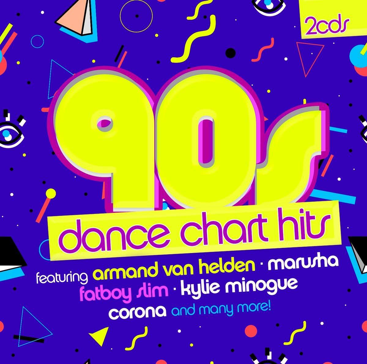 90s Dance Chart Hits (2 CD) dance top hits 6 4 cd