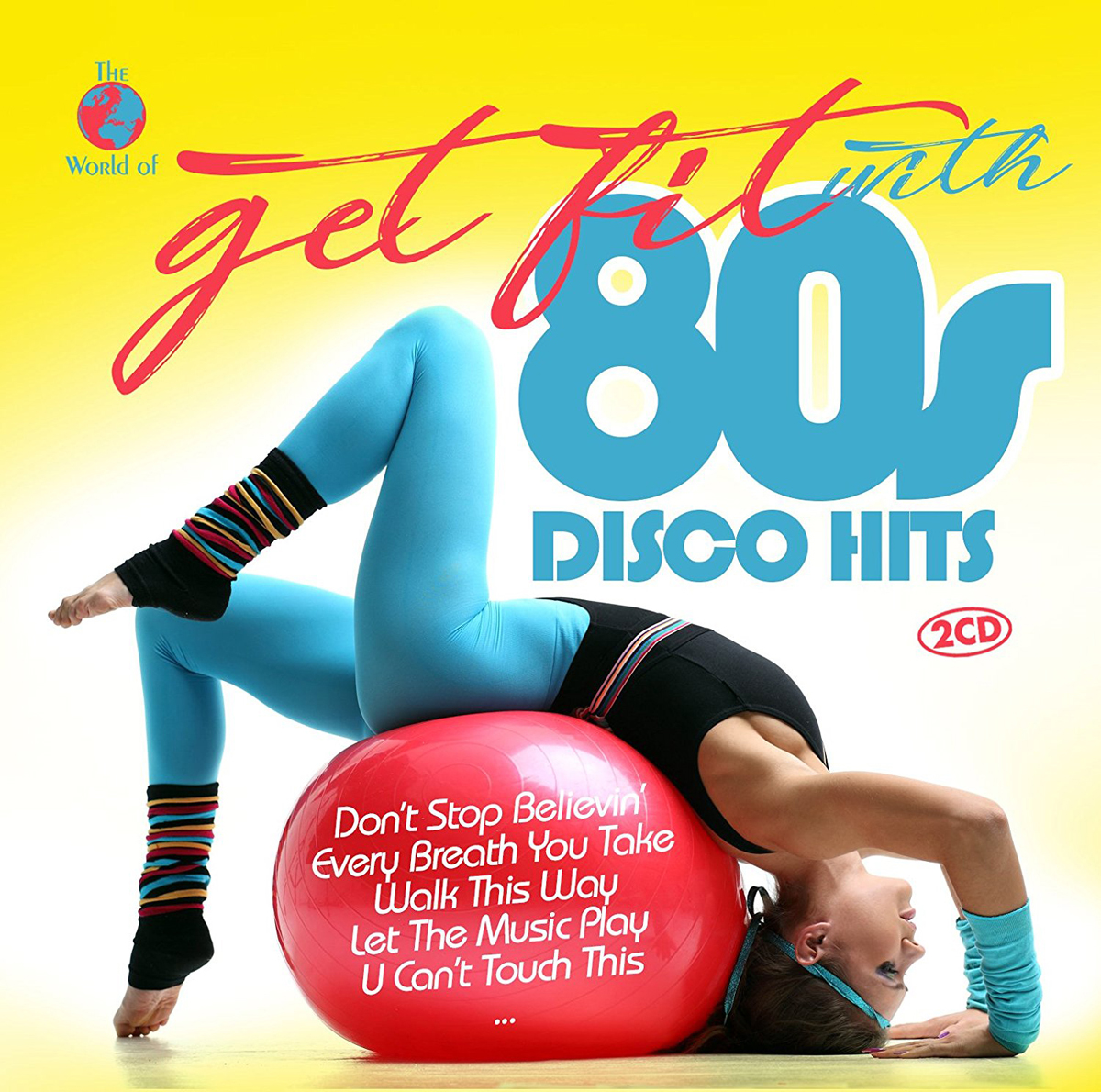 Get Fit With 80s Disco Hits (2 CD) недорого