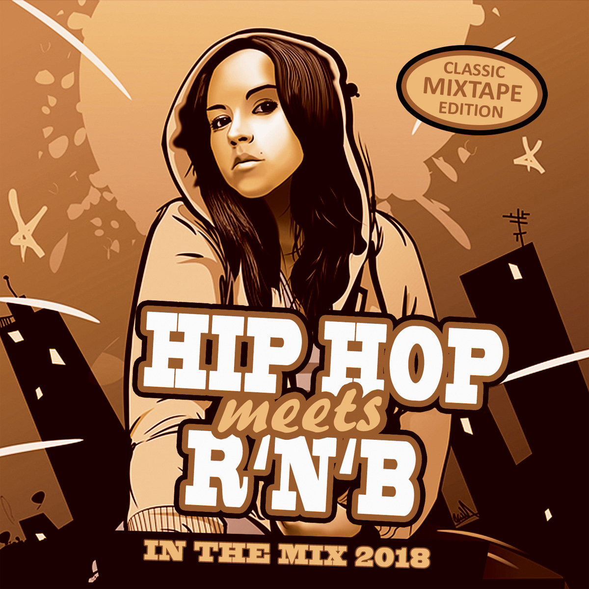 Hip Hop Meets R'n'B – In The Mix 2018 цена