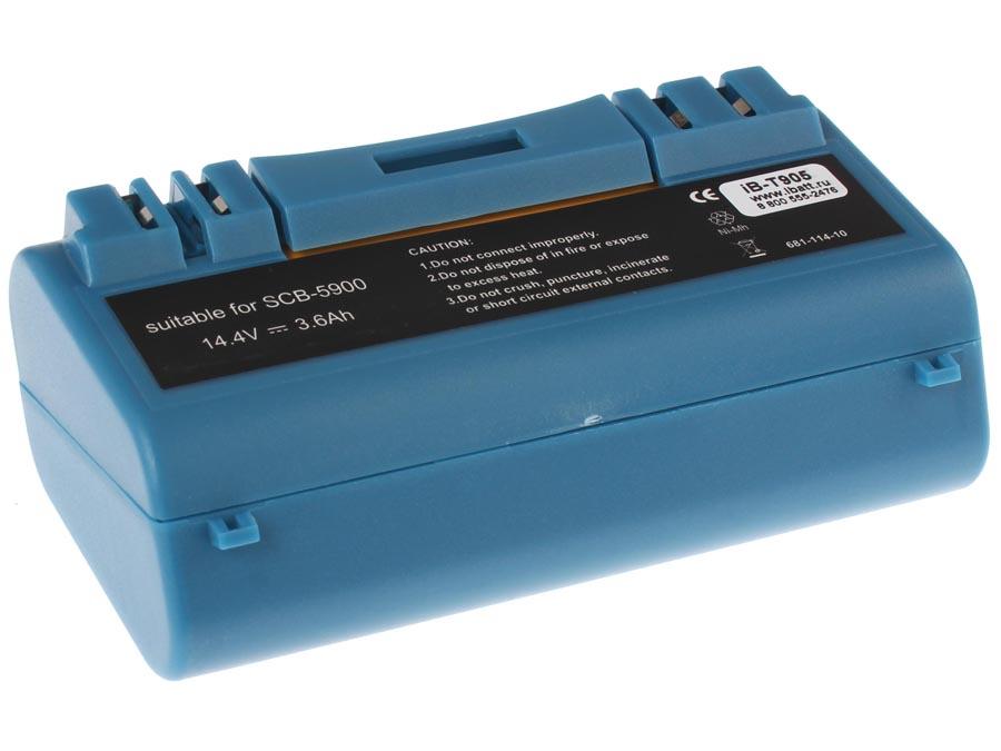 Аккумулятрная батарея 3600mAh для пылесосов iRobot Scooba 330; 340; 350; 380; 385; 387; 390; 5800; 5900; 5910; 5930; 5940; 6000; iBatt