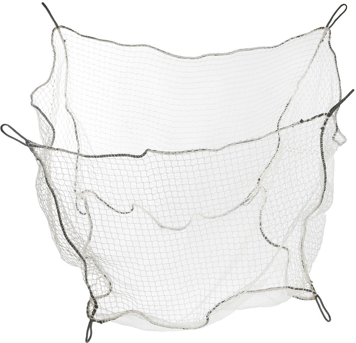 Садок капроновый прямоугольный Пронтекс, для промывки и хранения рыбы до 60 кг, 80 х 80 х 60 см, цвет: серый