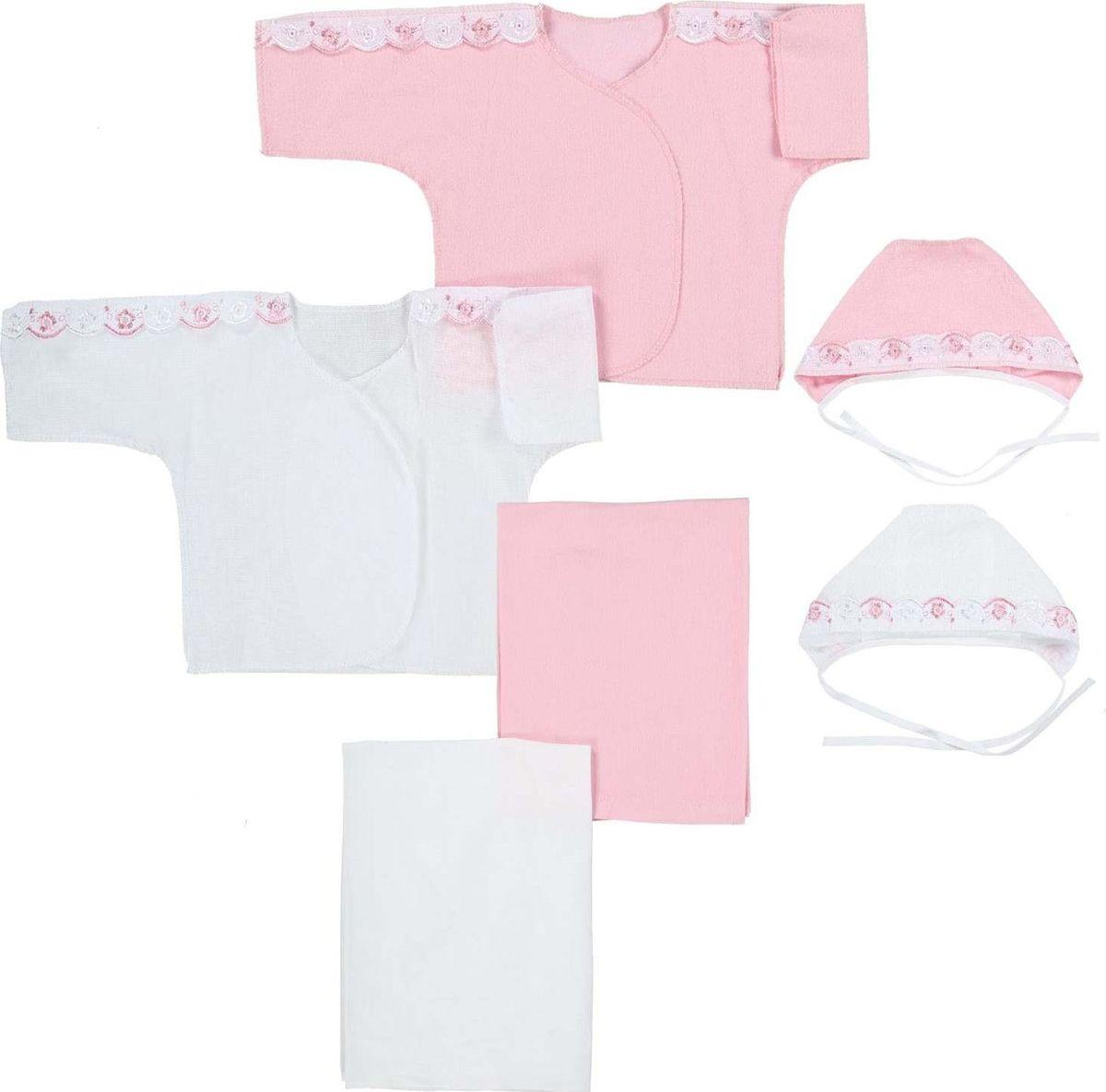 Комплект одежды Грачонок комплект для крещения детский трон плюс рубашка чепчик пеленка цвет белый 1417 размер 62 3 месяца