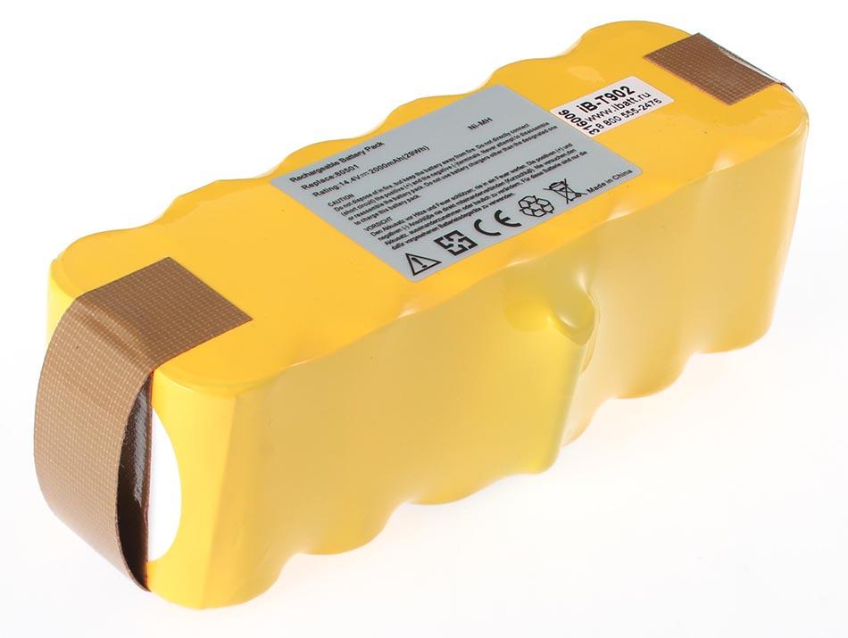 Аккумулятрная батарея 2000mAh для пылесосов iRobot Roomba 500; 505; 510; 521; 530; 531; 550; 555; 560; 561; 563; 564; 581; Roomba 600; 610; 616; 620; 625; 630; 631; 650; Roomba 760; 765; 770; 776; 780; 785; 790; Roomba 800; 865; 870; 876; 880; 886; 886 аккумулятор topon top irbt500 40 для irobot roomba 500 520 560 570 580 780 785 865 876 886 r3 series 14 4v 4000mah pn gd roomba 500