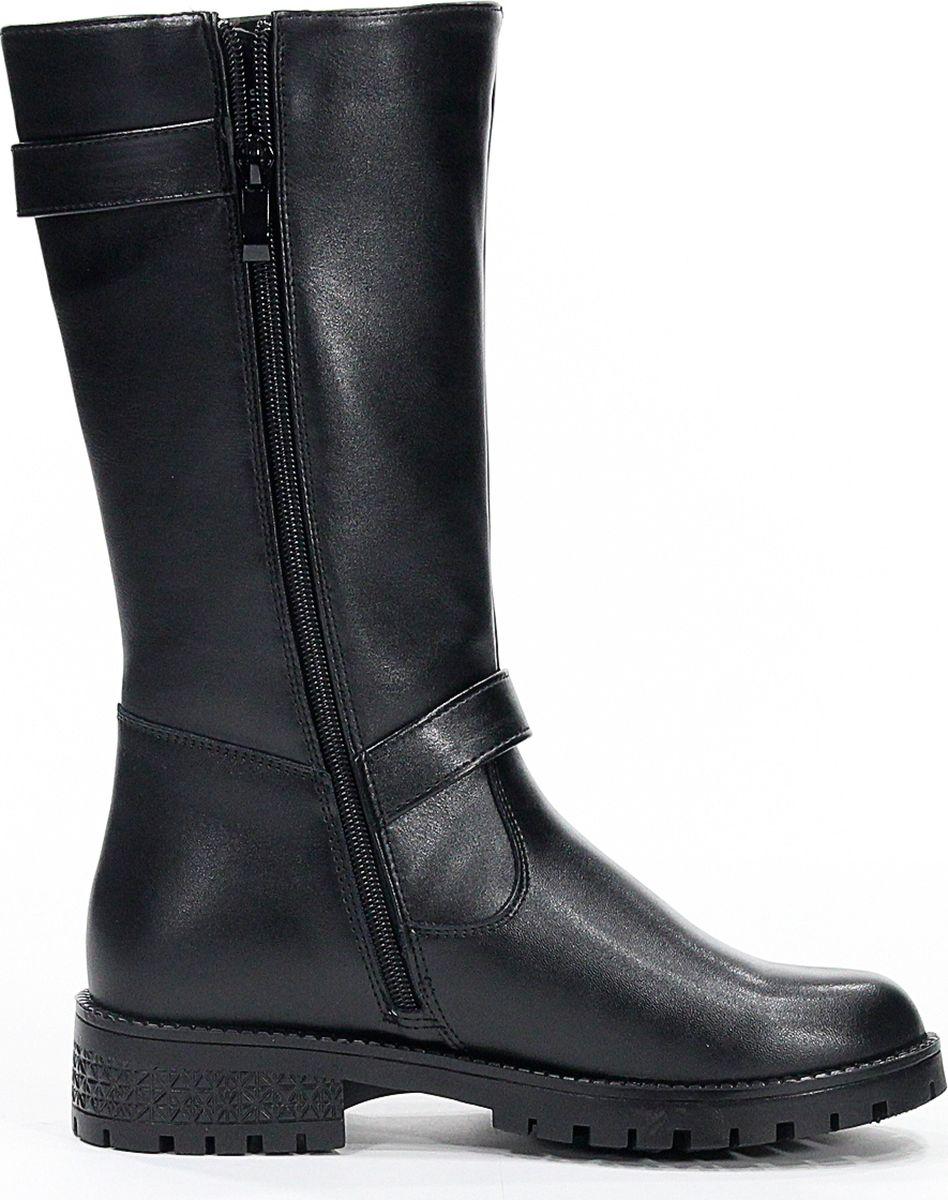 Сапоги для девочки San Marko, цвет: черный. 069228. Размер 36