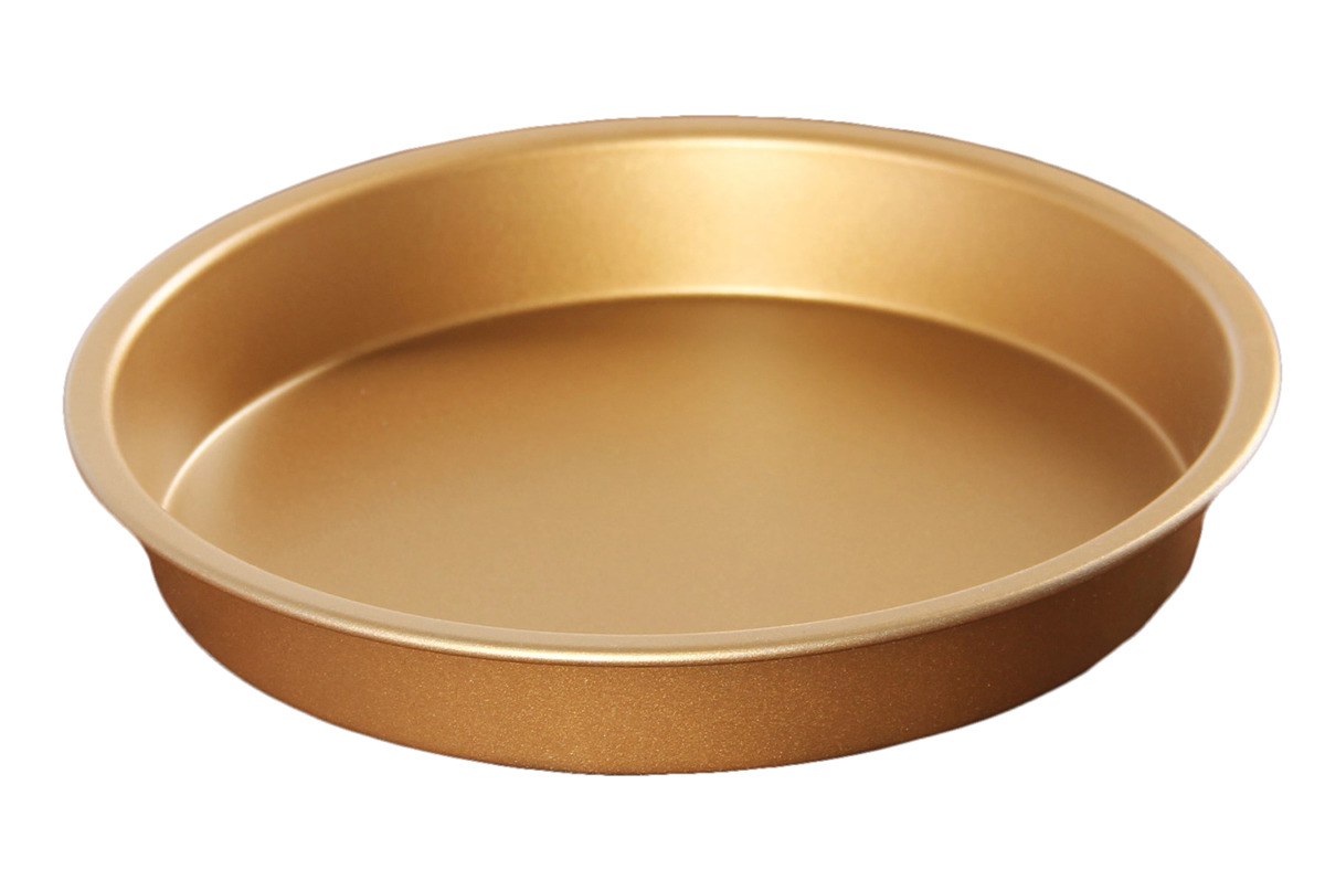 """Форма для выпечки Доляна """"Круг Золото"""", 3137333, с антипригарным покрытием, диаметр 16 см"""