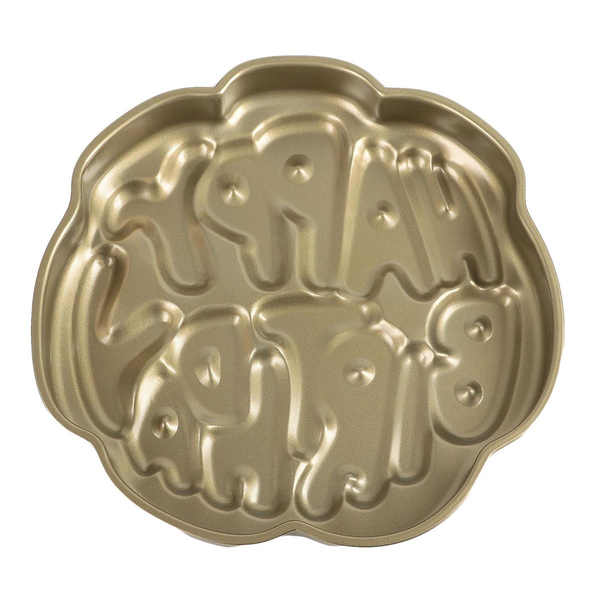 Форма для выпечки Доляна С днем рождения, 3792157, с антипригарным покрытием, 29 х 3,5 см3792157Форма для выпечки - один из самых важных предметов на кухне хорошей хозяйки. С качественной посудой радовать домашних пирогами, кексами, запеканками и прочей вкуснятиной вы сможете хоть каждый день!