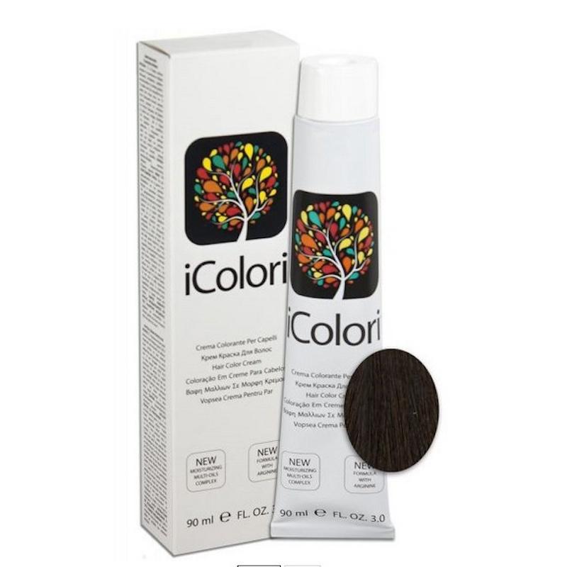 Крем-краска iColori коричневый - 90 мл. KayPro 16801-4 4