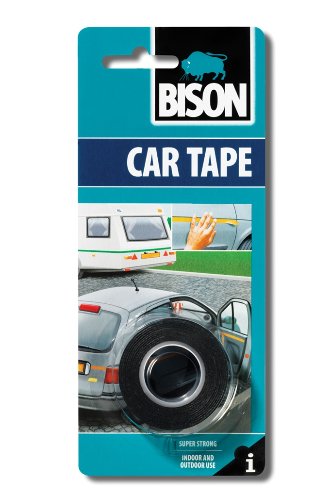Изоляционная лента BISON Лента CAR TAPE CRD 1.5MX19MM, 6305461 ouch body bondage tape черная лента для тела