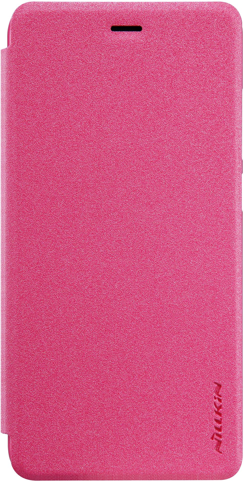 Чехол Nillkin Sparkle для Huawei P10 Lite, 6902048140585, розовый, 12 х 8 х 1 см