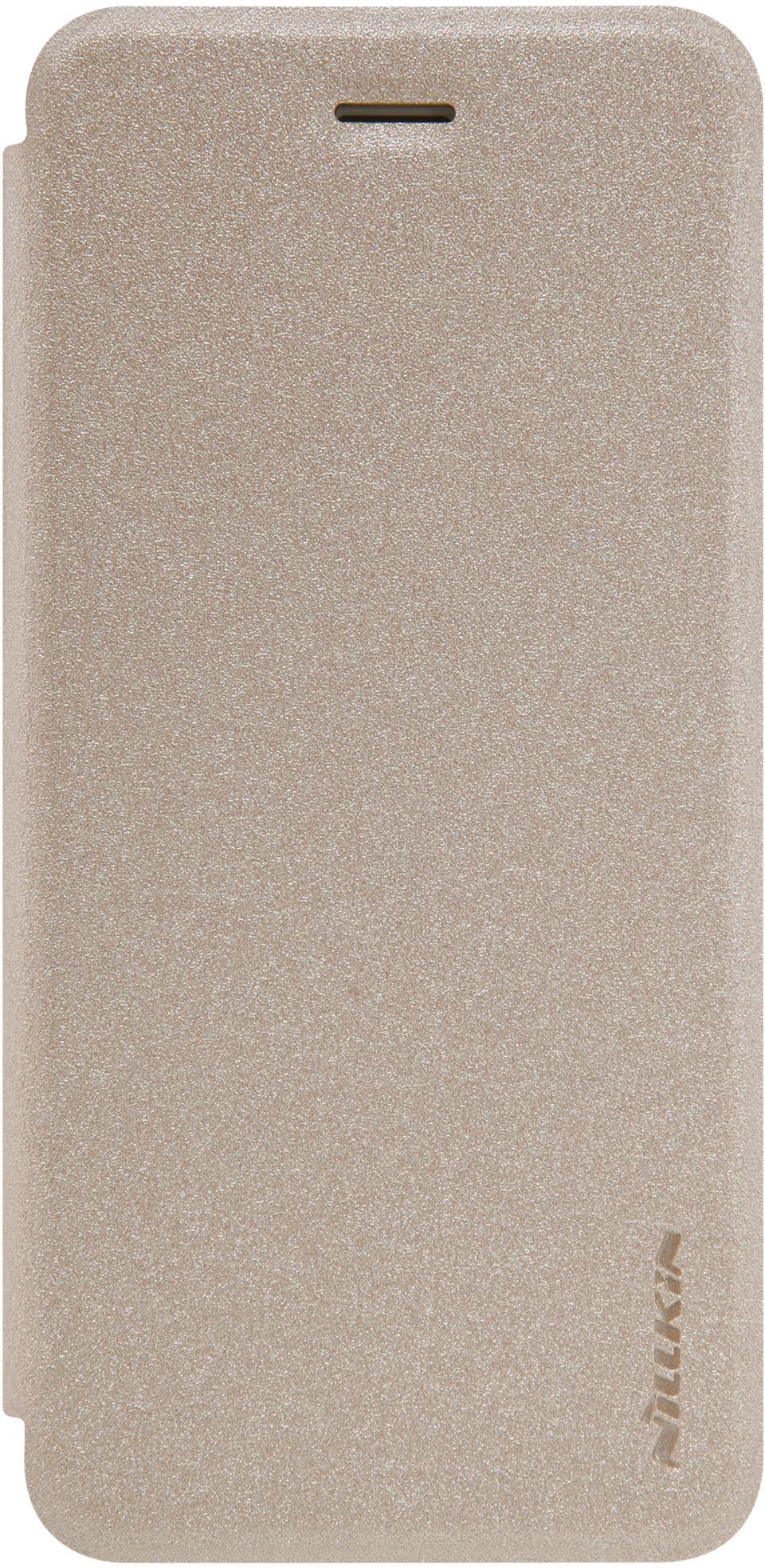 Чехол Nillkin Sparkle для iPhone 7, 6902048127432, золотистый