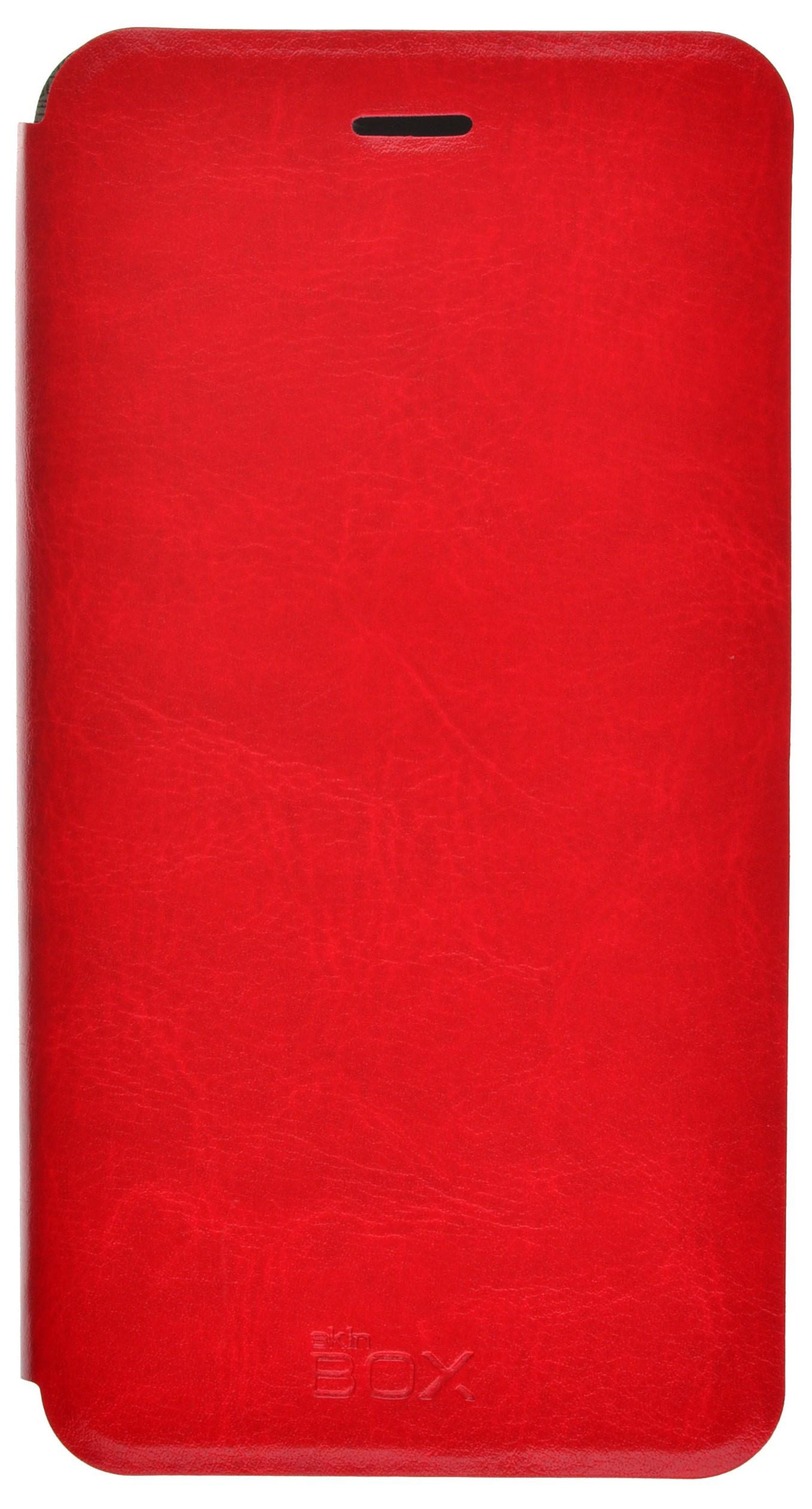 Чехол skinBOX Lux для Asus ZE552KL, 2000000097480, красный цена и фото