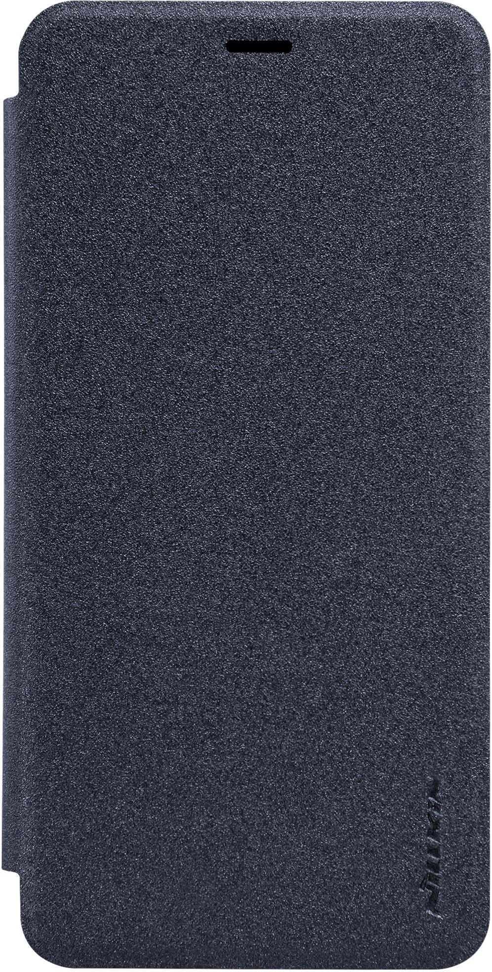 Чехол Nillkin Sparkle для Meizu M5, 6902048133563, серый nillkin meizu pro7 матовый телефон защитная крышка чехол чехол для мобильного телефона черный