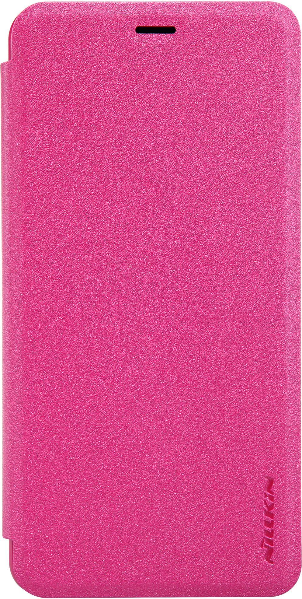 Чехол Nillkin Sparkle для Meizu M5, 6902048133587, розовый чехол для meizu m5 gecko flip белый
