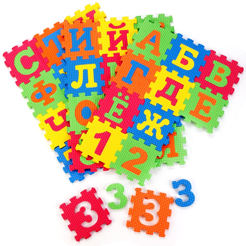 Коврик-пазл Играем вместе Союзмультфильм 223197, разноцветный коврик пазл 36 элементов играем вместе животные