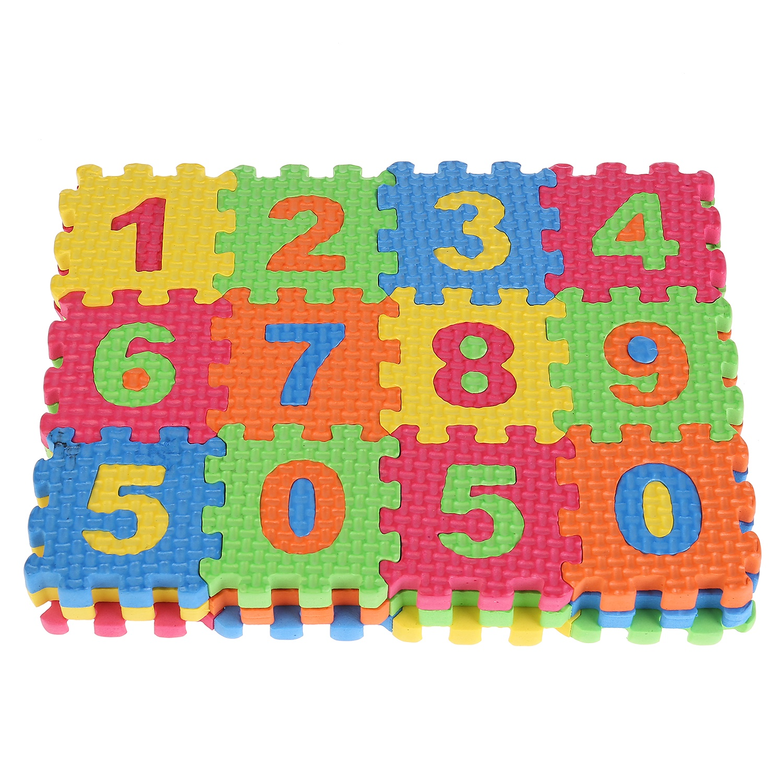 Коврик-пазл Играем вместе Союзмультфильм 223196, разноцветный коврик пазл 36 элементов играем вместе животные