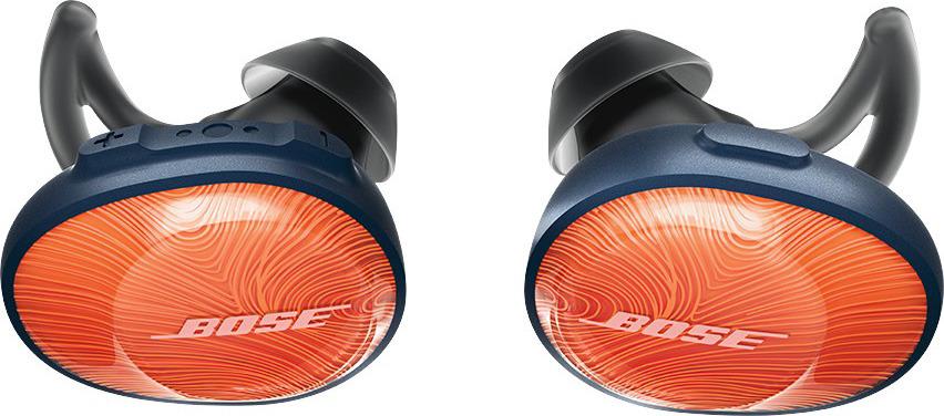 Беспроводные наушники Bose SoundSport Free, оранжевый bose