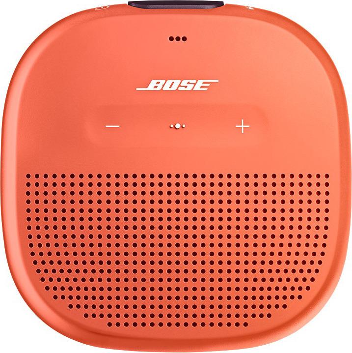 Портативная акустическая система Bose SoundLink Micro, 783342-0900, оранжевый портативная акустическая система bose soundlink revolve plus 739617 2110 черный
