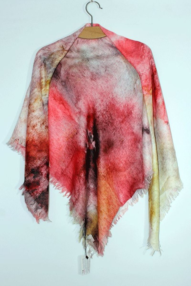 Платок Elitplatok платок женский elitplatok цвет розовый фиолетовый pk 110 12 размер 100 х 190 см