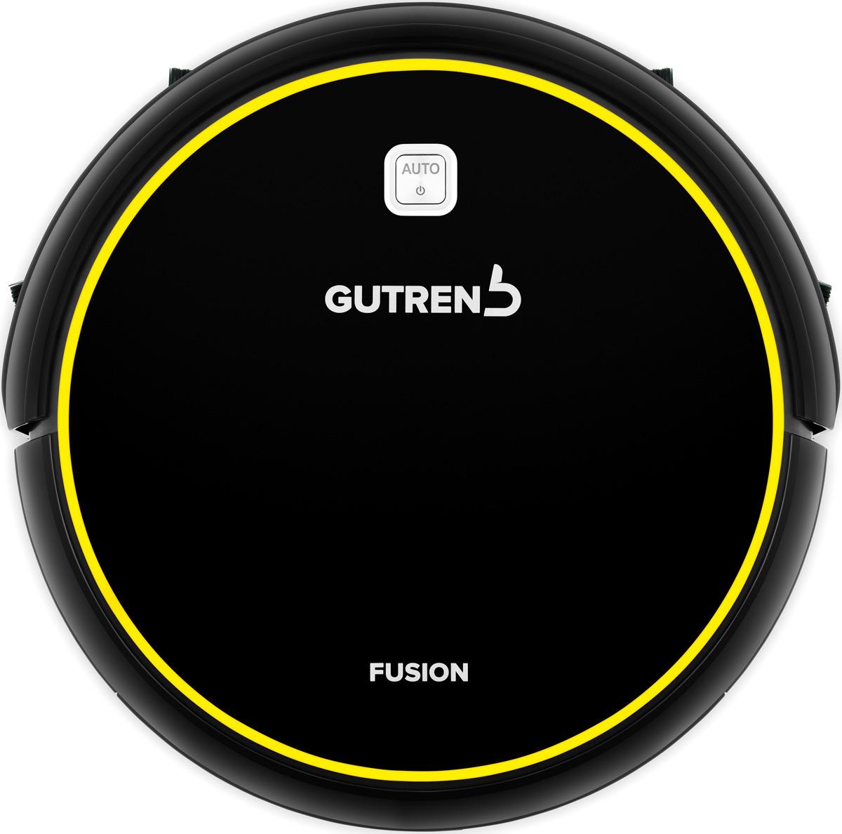 лучшая цена Робот-пылесос Gutrend Fusion G150BY, черный, желтый