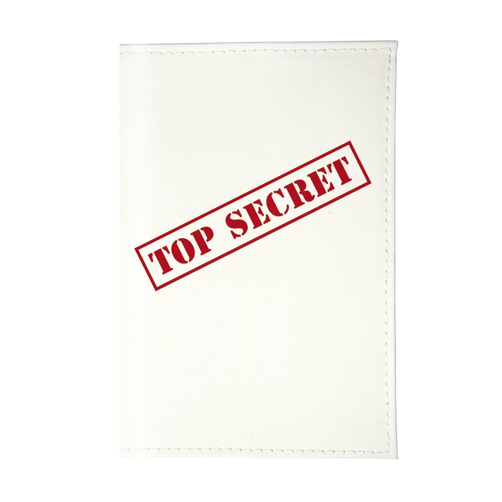 Визитница Mitya Veselkov Top Secret VIZAM085, белый, красный все цены