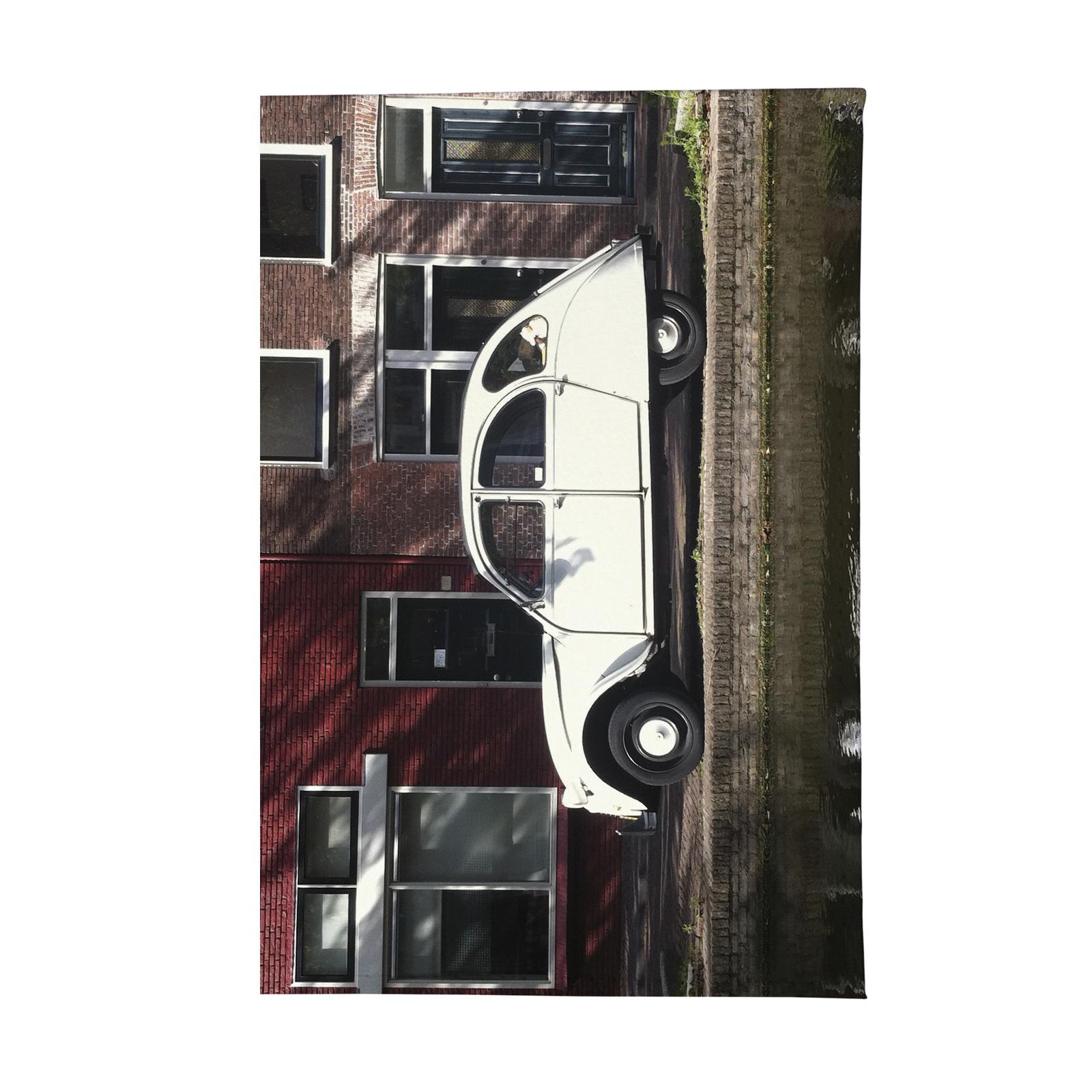 Визитница Mitya Veselkov Ретро-автомобиль, VIZIT-068, белый, коричневый очки солнцезащитные женские mitya veselkov цвет коричневый os 18 037