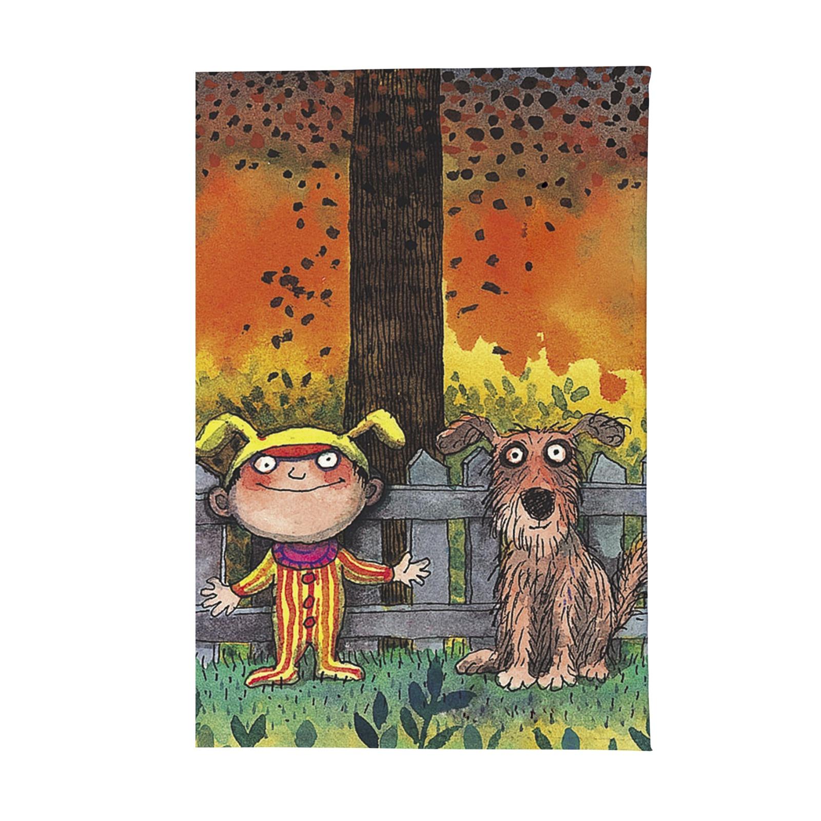 Визитница Mitya Veselkov Мальчик и пес, VIZIT-271, коричневый, оранжевый очки солнцезащитные женские mitya veselkov цвет коричневый os 18 037