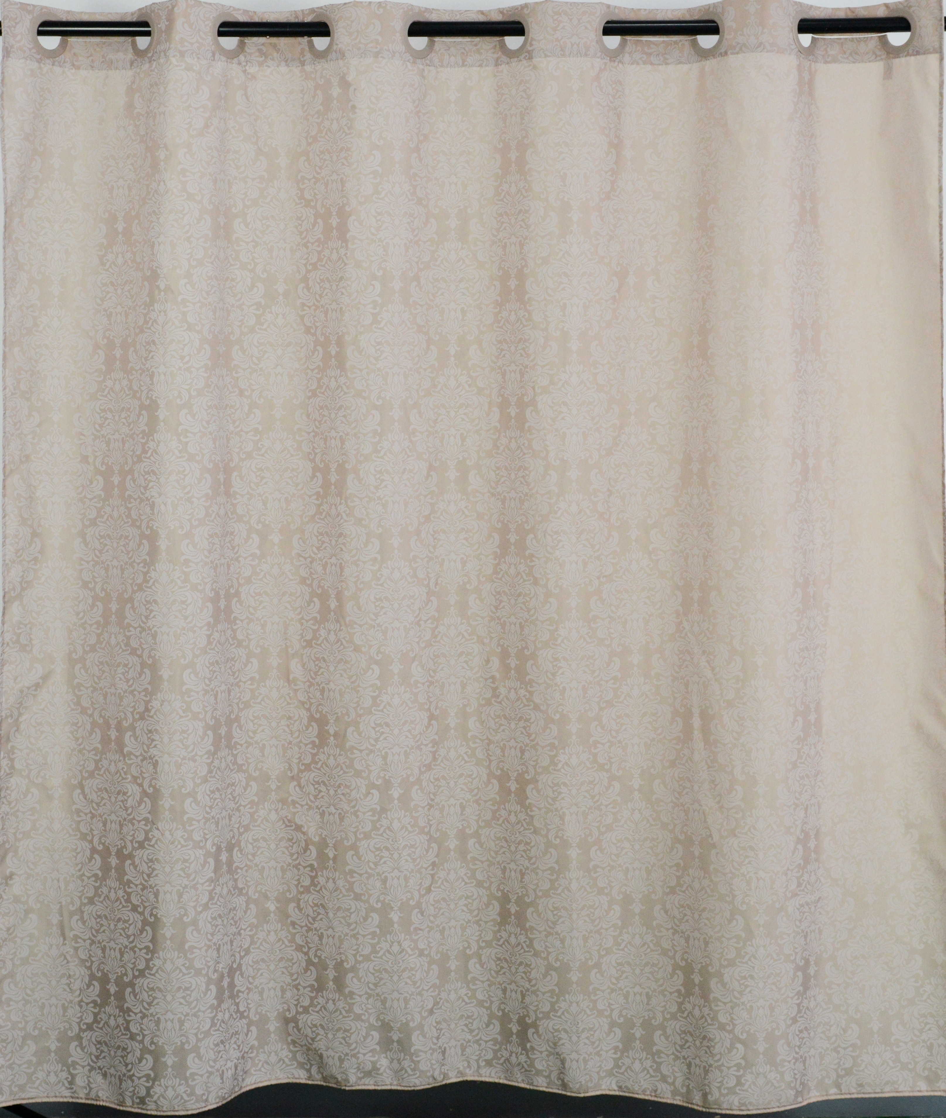 все цены на Штора для ванной My Space Marquise с люверсами, PR180180019, полиэстер, 180 х 180 см онлайн