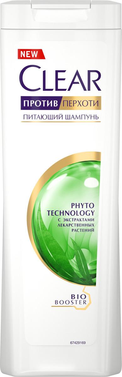 "Clear шампунь против перхоти для женщин ""Фитотехнология"", 200 мл"