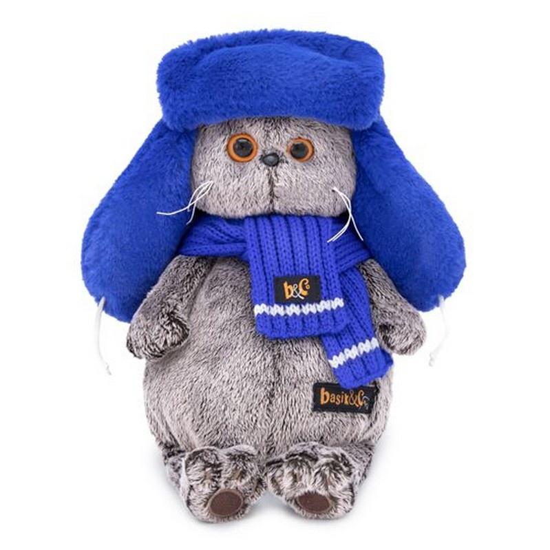 Мягкая игрушка BUDIBASA 25 см серый, синий