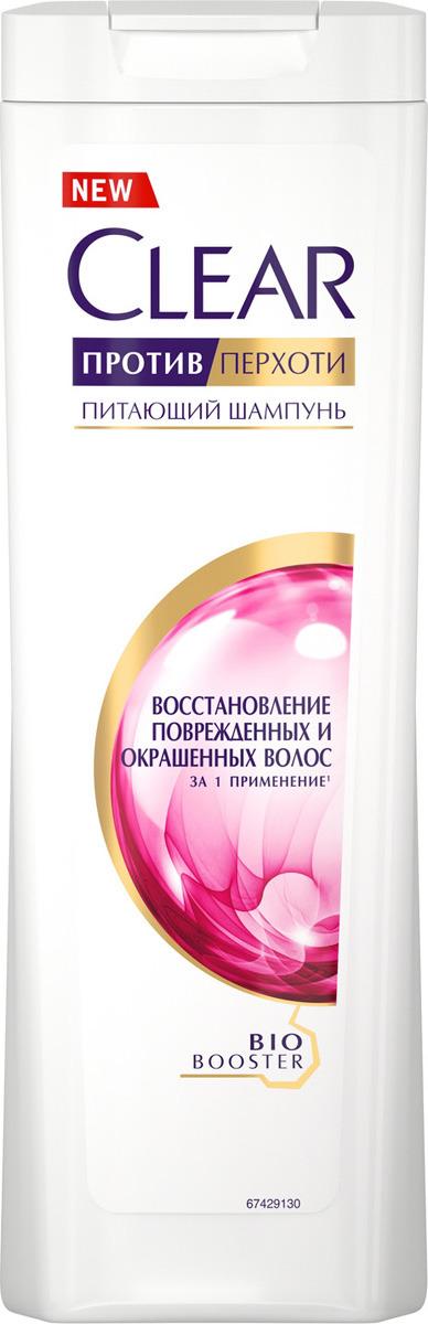 """Clear шампунь против перхоти для женщин """"Восстановление поврежденных и окрашенных волос"""", 200 мл"""