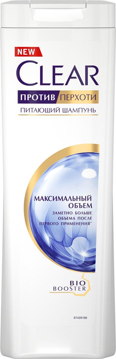 """Шампунь против перхоти Clear """"Максимальный объем"""", для женщин, 400 мл"""
