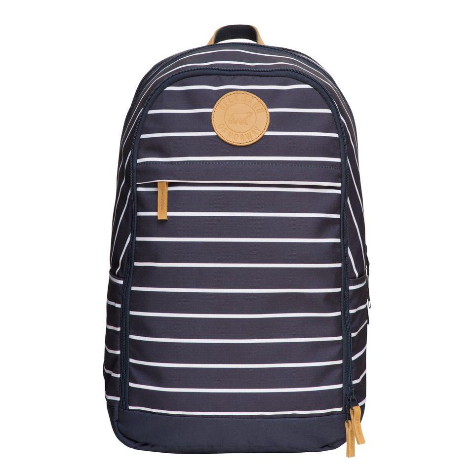 Рюкзак для мальчика Beckmann Urban, 7049985830175, темно-синий, белый цена и фото