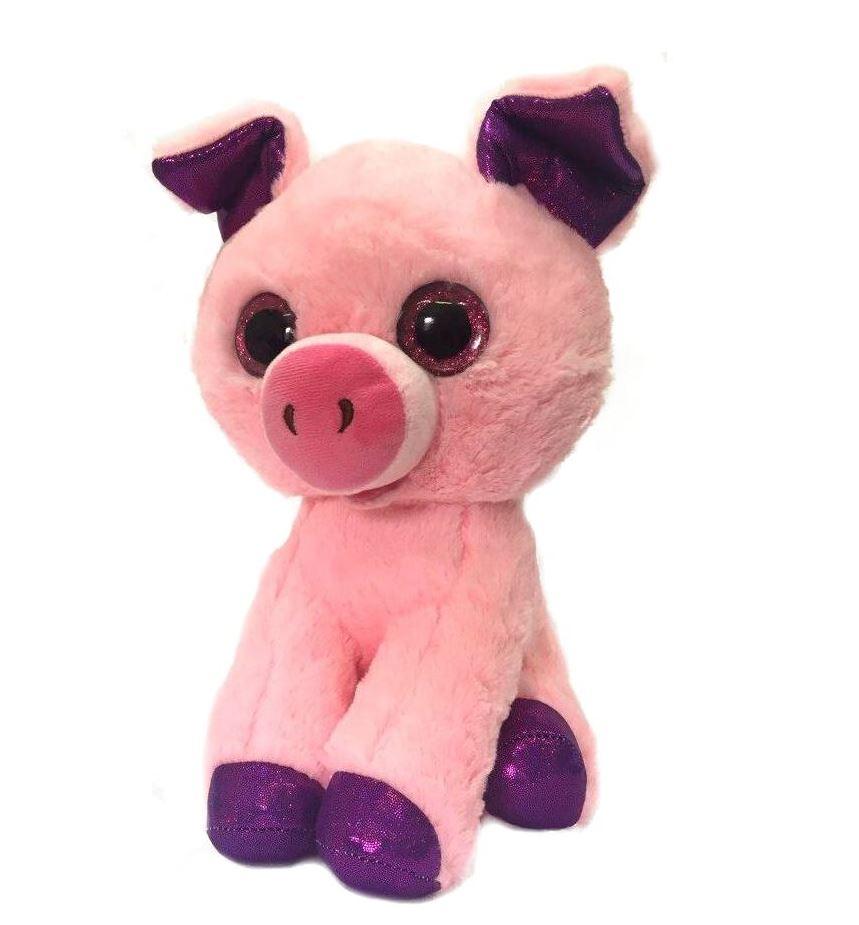 Мягкая игрушка СмолТойс Поросенок-Фунтик, 6172/РЗ/30, розовый