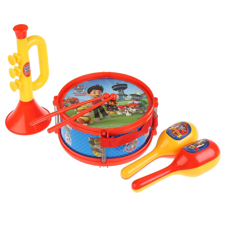 Набор музыкальных инструментов Играем вместе Щенячий патруль 256755, разноцветный набор музыкальных инструментов nickelodeon щенячий патруль