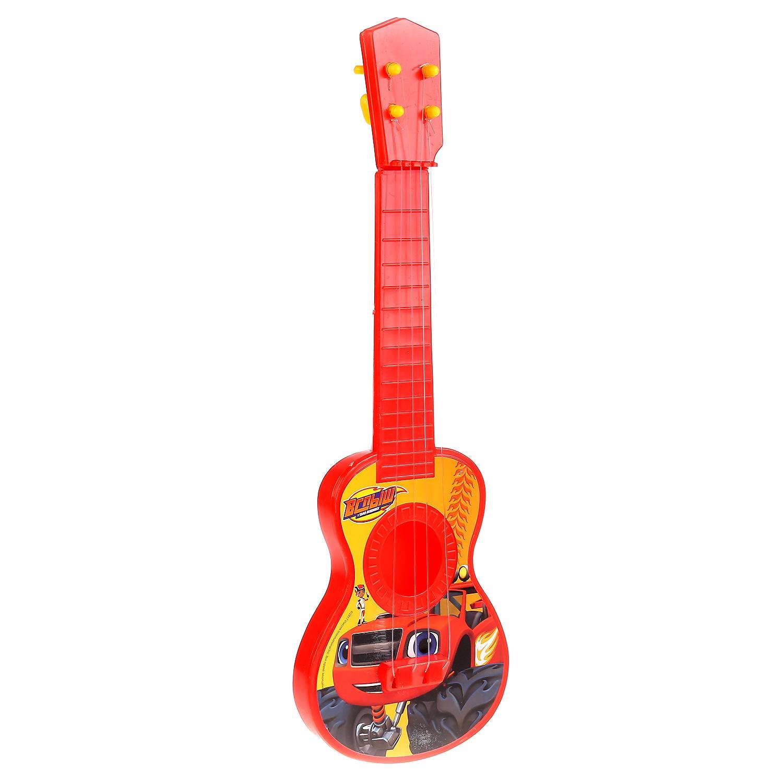 Гитара Играем Вместе Вспыш гитара игрушечная росмэн с медиатором вспыш