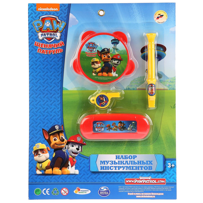 Набор музыкальных инструментов Играем вместе Щенячий патруль 258319, разноцветный детский музыкальный инструмент играем вместе набор щенячий патруль b678624 r2