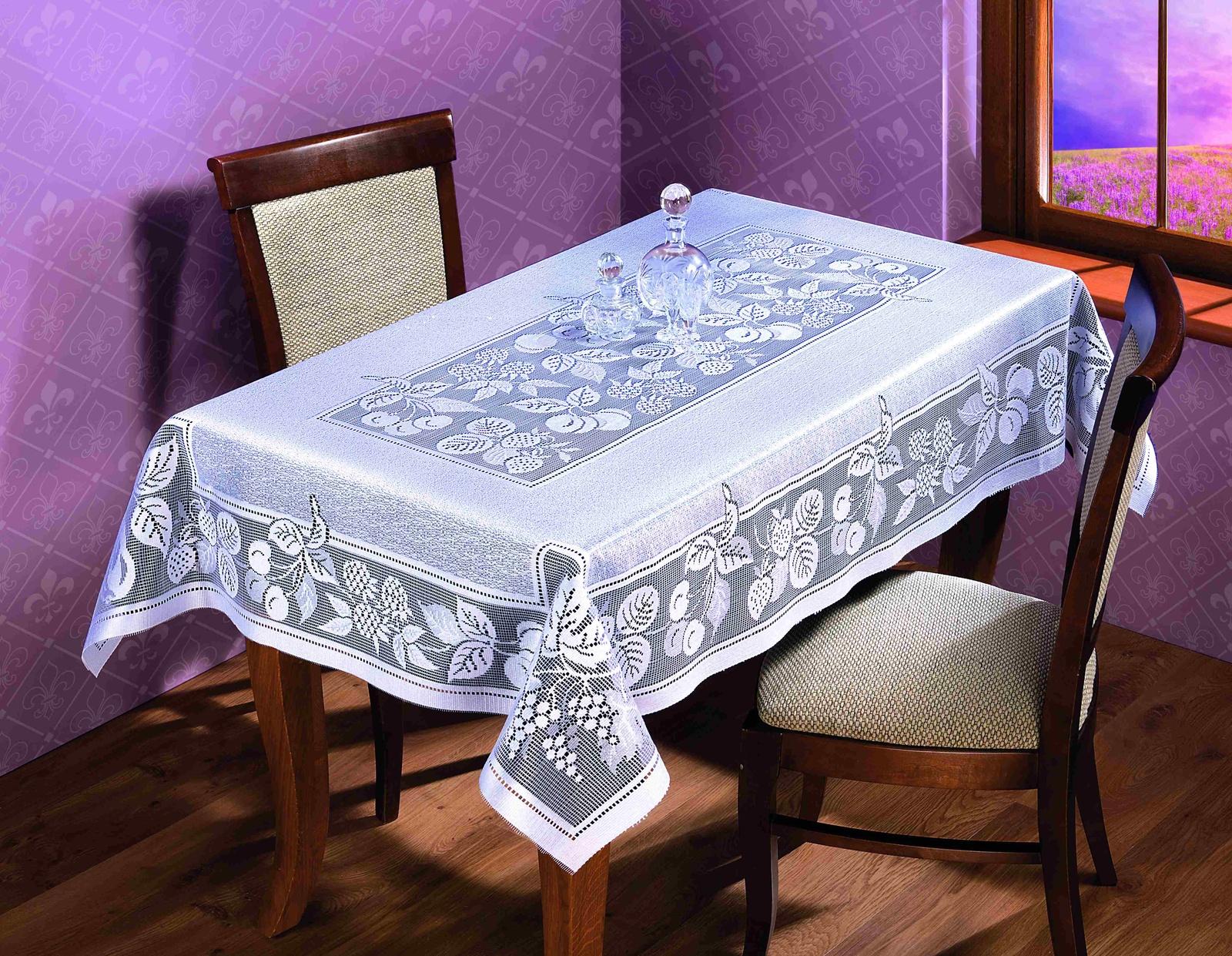 Скатерть Wisan, 125х170, белый, 065В недорго, оригинальная цена