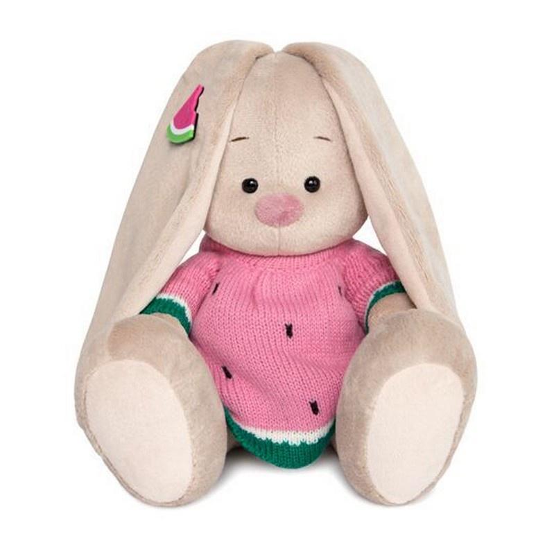 Мягкая игрушка BUDIBASA 23 см бежевый, розовый, зеленый