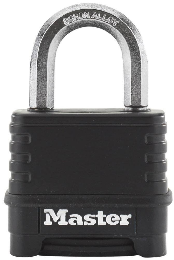 Замок MasterLock Кодовый навесной EXCELL™ A9/B28/C/W56 цинк+термопл/8-бор-ст 4ц смен, M178EURD замок masterlock навесной excell™ a10 b51 c20 w54 ст 8 бор ст 2 4п 4к m830eurdlh