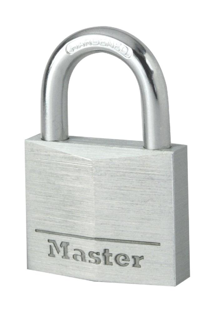 цены Замок MasterLock навесной A5/B18/C14/W30 алюм/зак.ст 2 4п 2к, 9130EURD