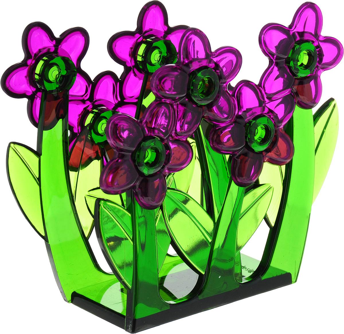 Салфетница Herevin, 161210-000, фиолетовый, 13 х 5 12 см