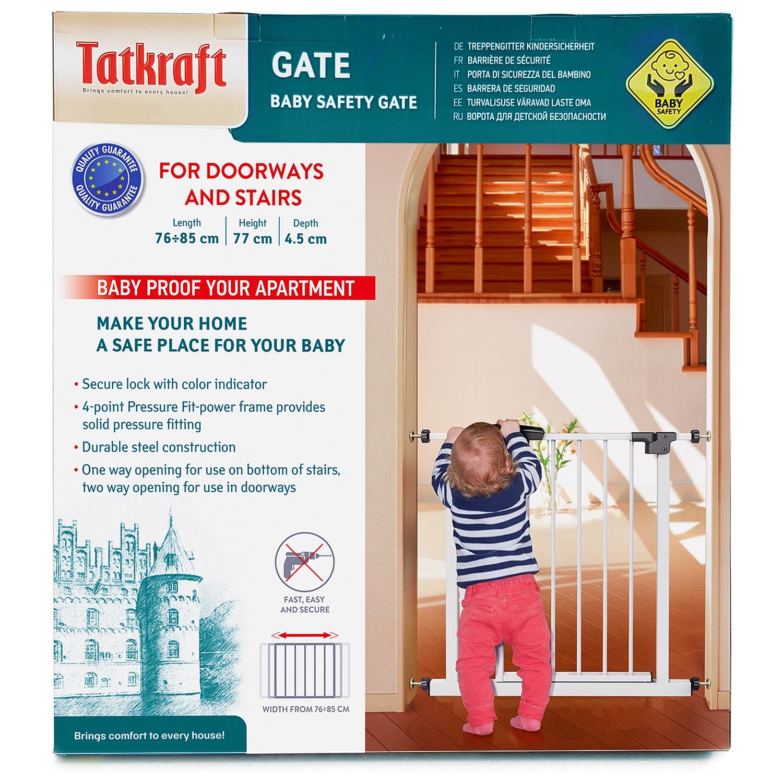 Ворота безопасности Tatkraft GATE Размеры: 76-85x77x4.5 см munchkin ворота безопасности maxi secure