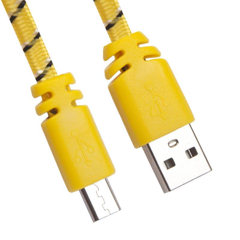 USB-кабель Liberty Project Micro USB, USB, 0L-00030329, желтый аксессуар liberty project usb micro usb 1m black 0l 00000321