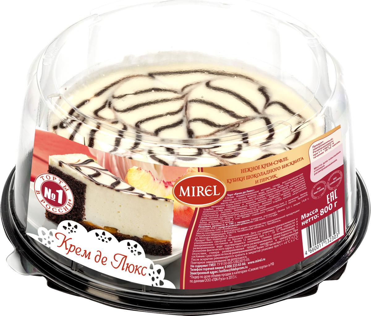 все цены на Торт творожный Mirel