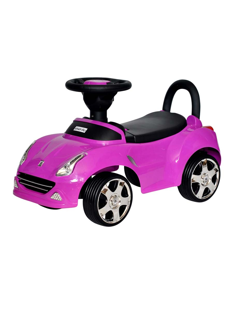 Каталка Everflo Машинка 613 фиолетовый, ПП100004319